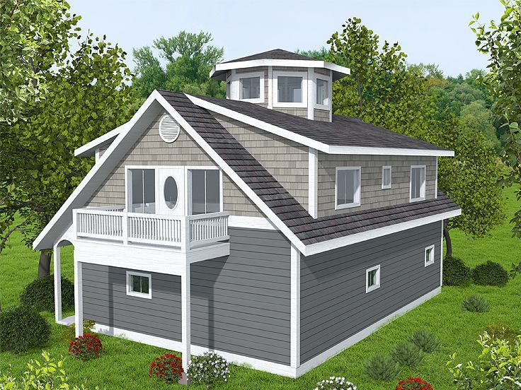garage plan with flex space 012g 0134 garage house pinterest rh pinterest ch