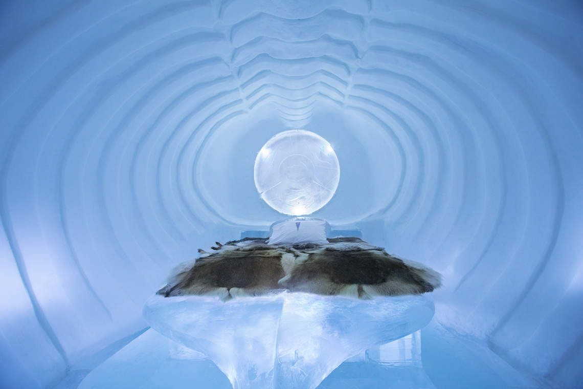 Freeze Your Balls Off At A Hotel Made Entirely Of Ice Ice Hotel