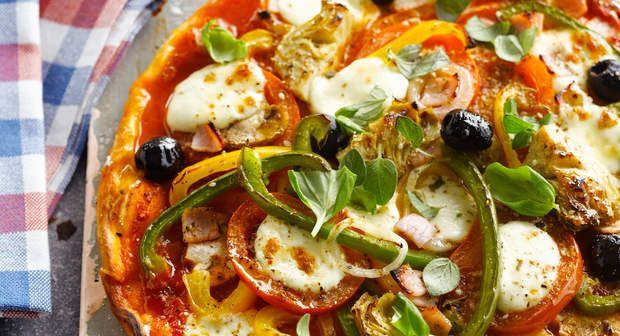 Pizza quatre saisonsVoir la recette >>
