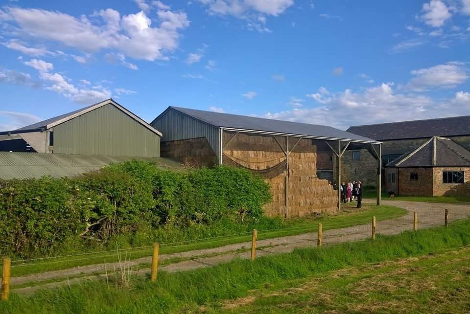 Country barn wedding venue near Knaresborough North
