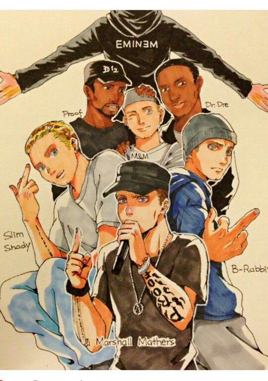 I Didn T Think I Needed Eminem With Anime Eyes Eminem Eminem Funny Eminem Rap