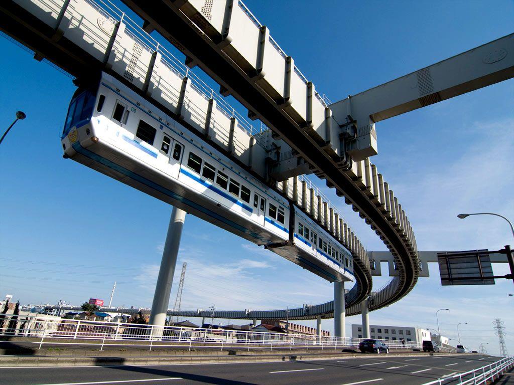 Chiba Urban Monorail (千葉都市モノレール), Chiba (千葉市), Chiba