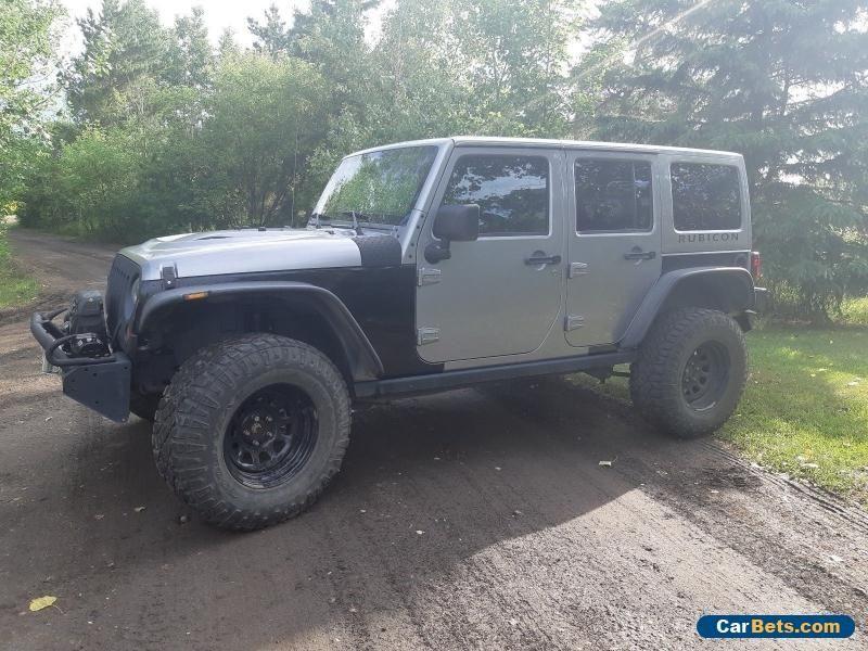 Jeep Wrangler Unlimited Rubicon Jeep Wrangler Forsale Canada