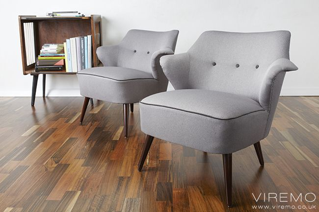 pair of cocktail chairs vintage armchairs www viremo co uk rh pinterest com