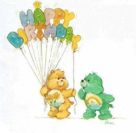 Care Bears Friend Bear Wish Bear Say Happy Birthday – Care Bears Birthday Card