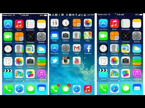 iOS 8 LAUNCHER FOR ANDROID YouTube Android, Iphone