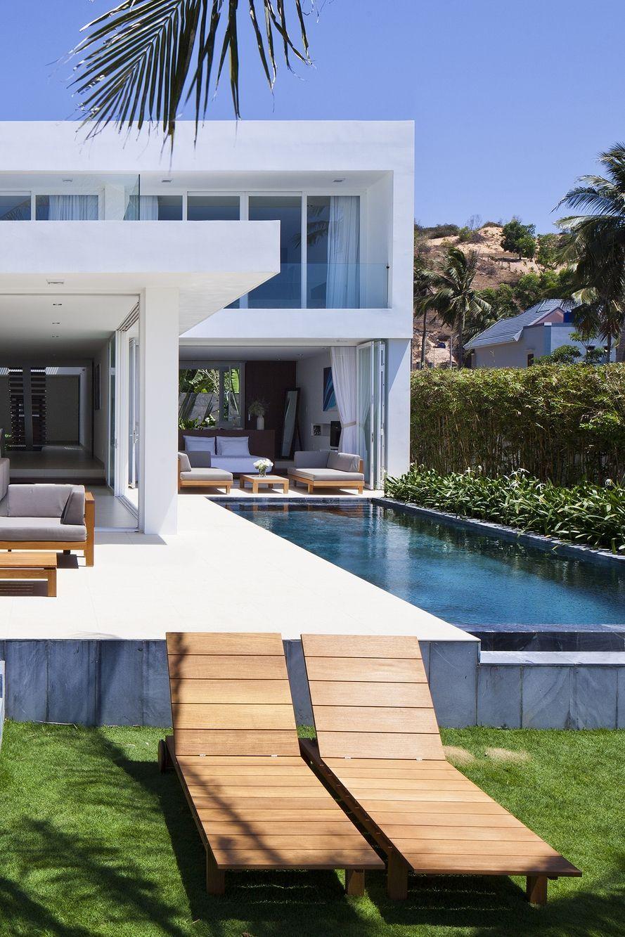 World of Architecture Stunning modern beach house