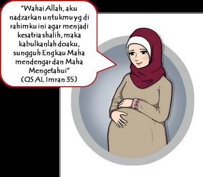 54 Gambar Animasi Ibu Hamil