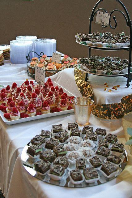dessert buffet as seen on completerecipes com random stuff rh pinterest co uk