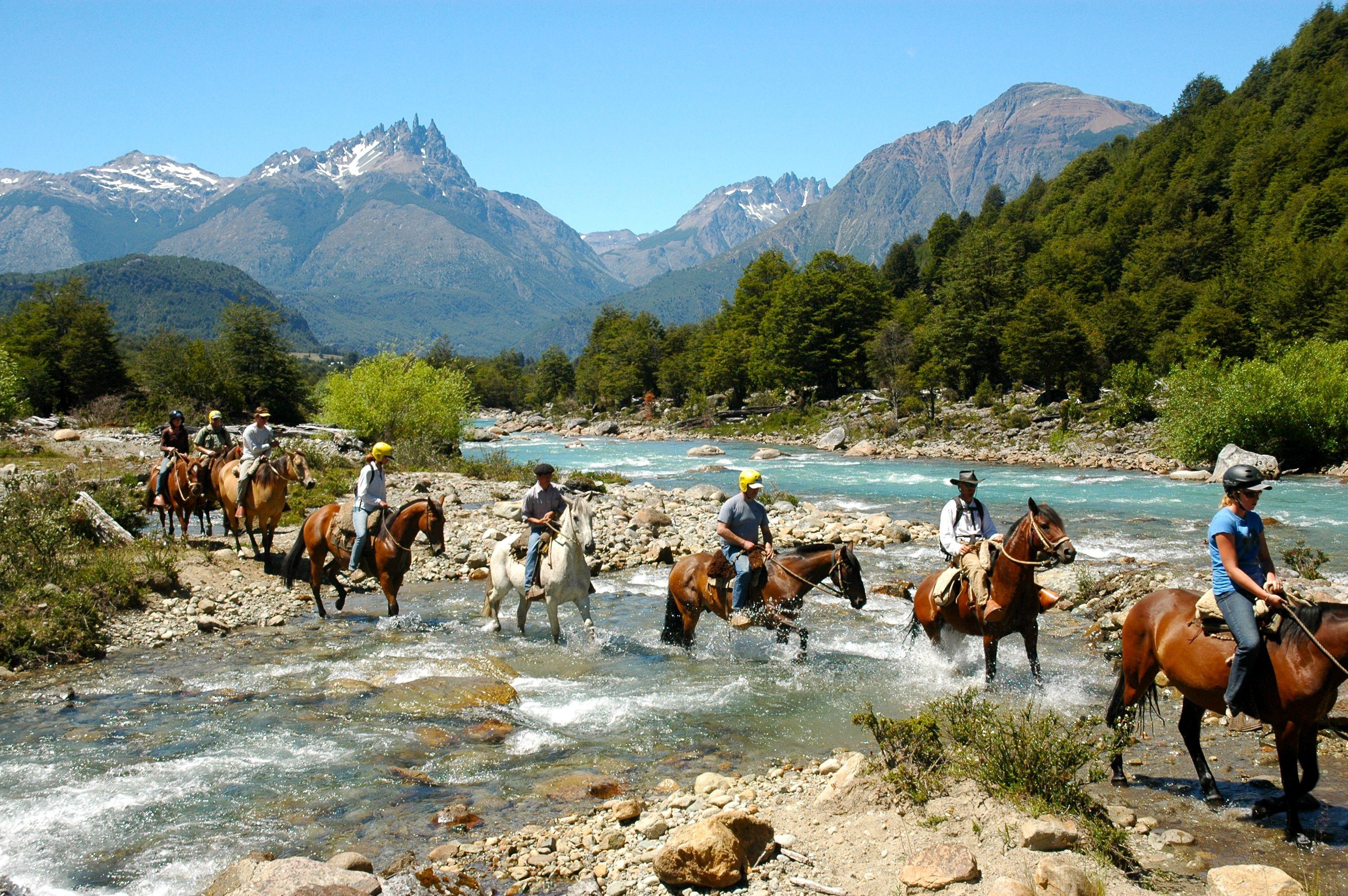 horseback riding on the Futaleufu with Bio Bio Expeditions.Patagonia, Chile  | Kayaking, Patagonia, Upsala