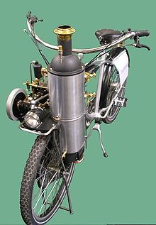 a steam-powered bicycle