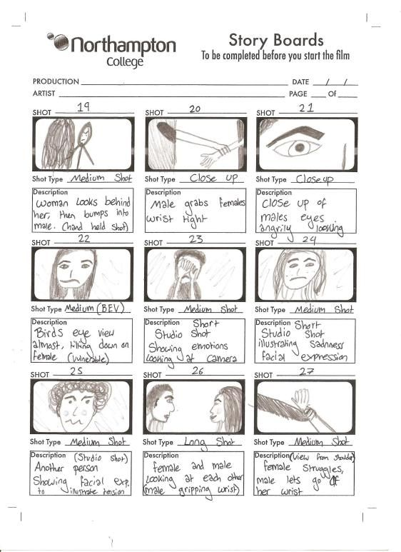 video production storyboards - Google Search Storyboard templates