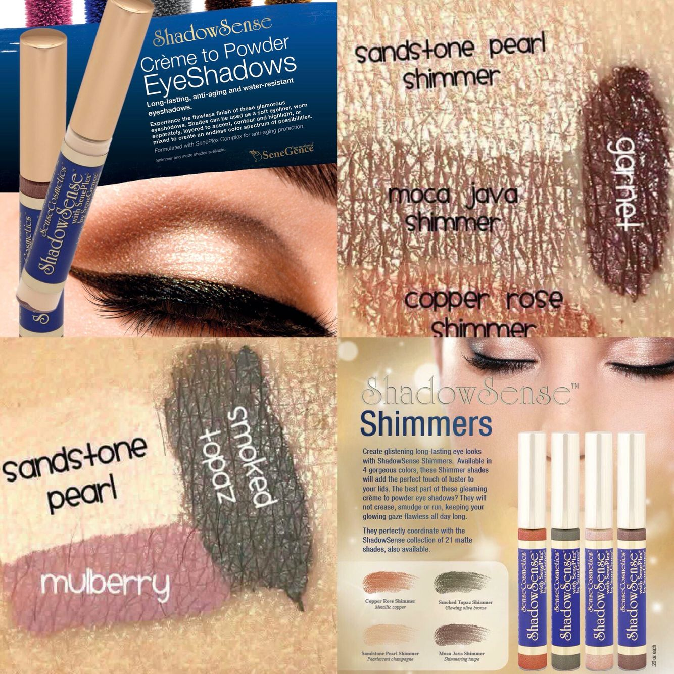 Senegence #shadowsense Creme To Powder Eyeshadow Is Amazing! It Blends So  Easily And Its