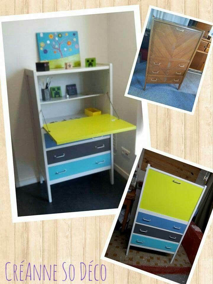 Pin by Rizette on RELOOKING MEUBLES Pinterest - relooker un meuble en pin