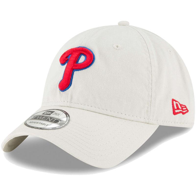 reputable site cd4bb ff363 Philadelphia Phillies New Era Core Classic Twill 9TWENTY Adjustable Hat –  Tan