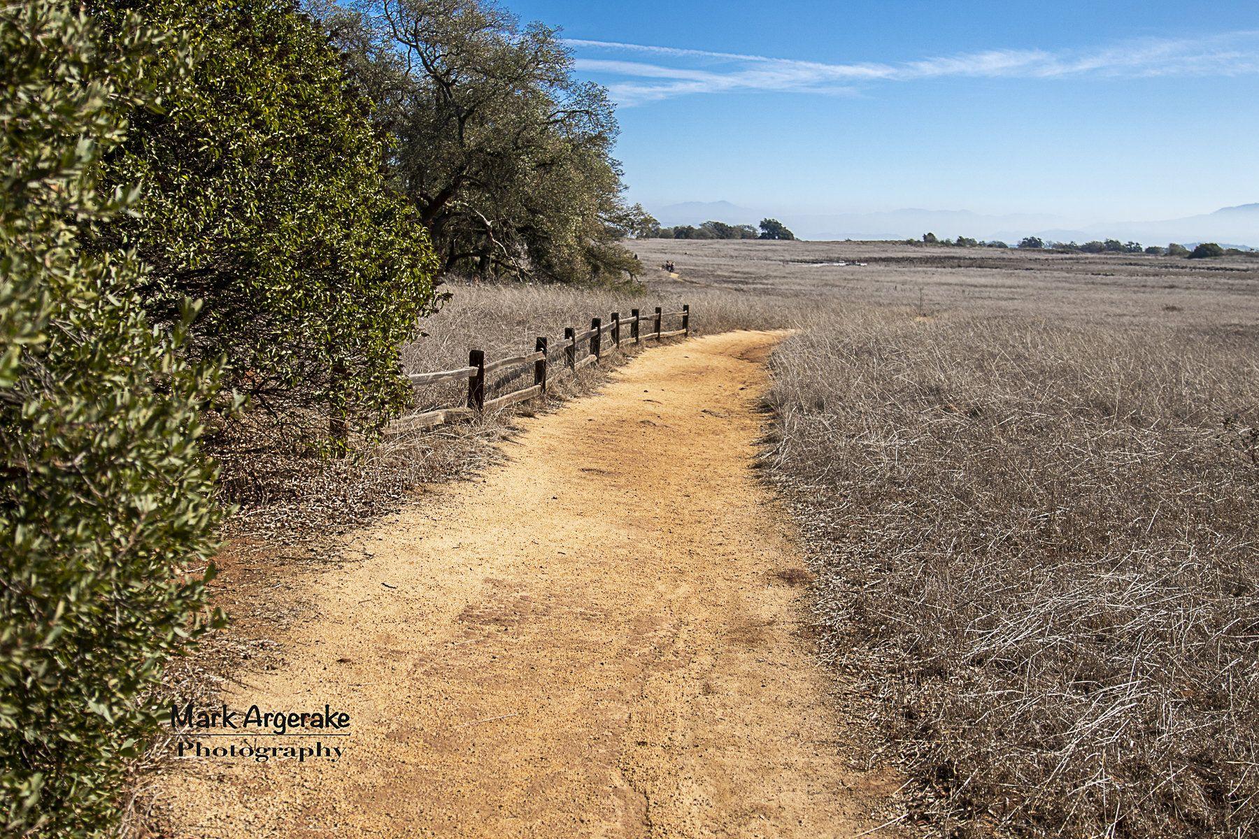 Santa Rosa Plateau In Murrieta California Hiking Trail To The Vernal Pools 4x6 Photo Postcard