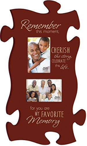 P Graham Dunn Remember This Puzzle Photo Frame Puf0210 13 X 22 Find Out More About The Great Product At The I Puzzle Picture Frame Puzzle Frame Photo Frame