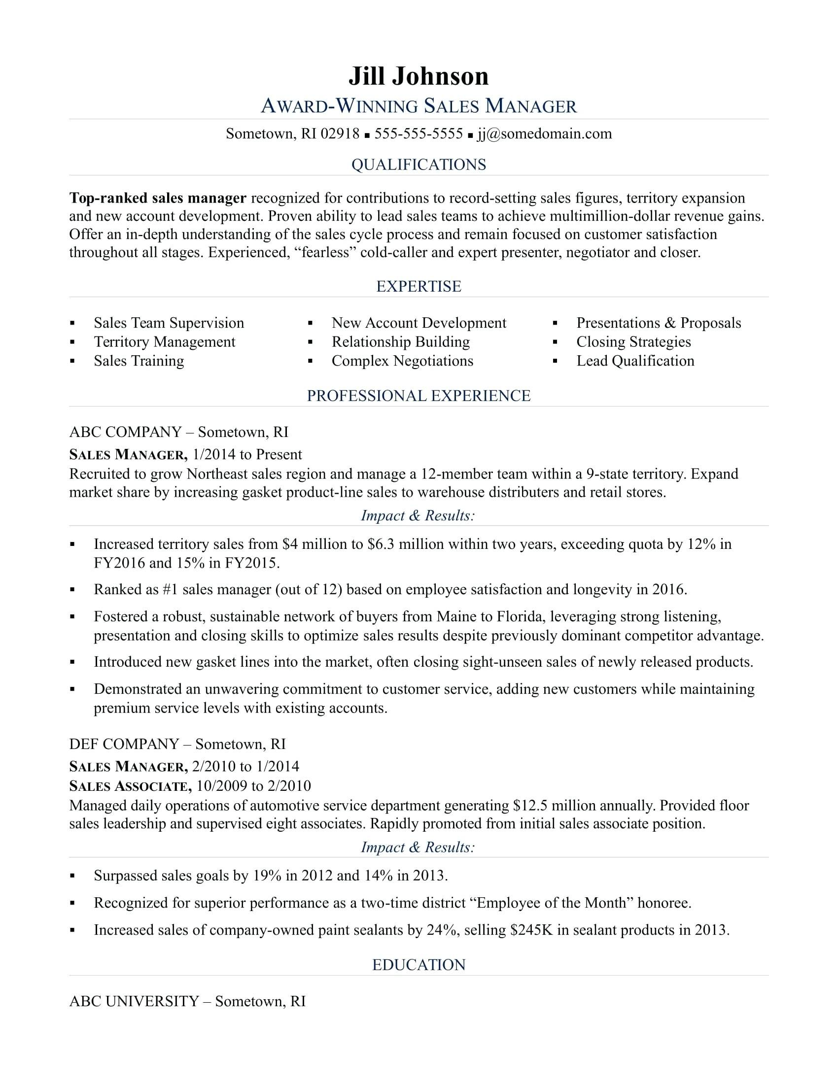 Automotive Finance Manager Resume Nmdnconference