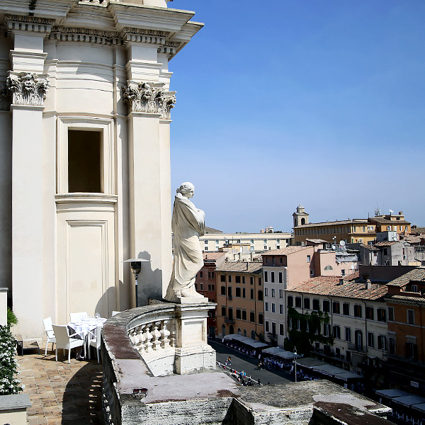 Terrazza Borromini La Grande Bellezza In Rome Ristorante