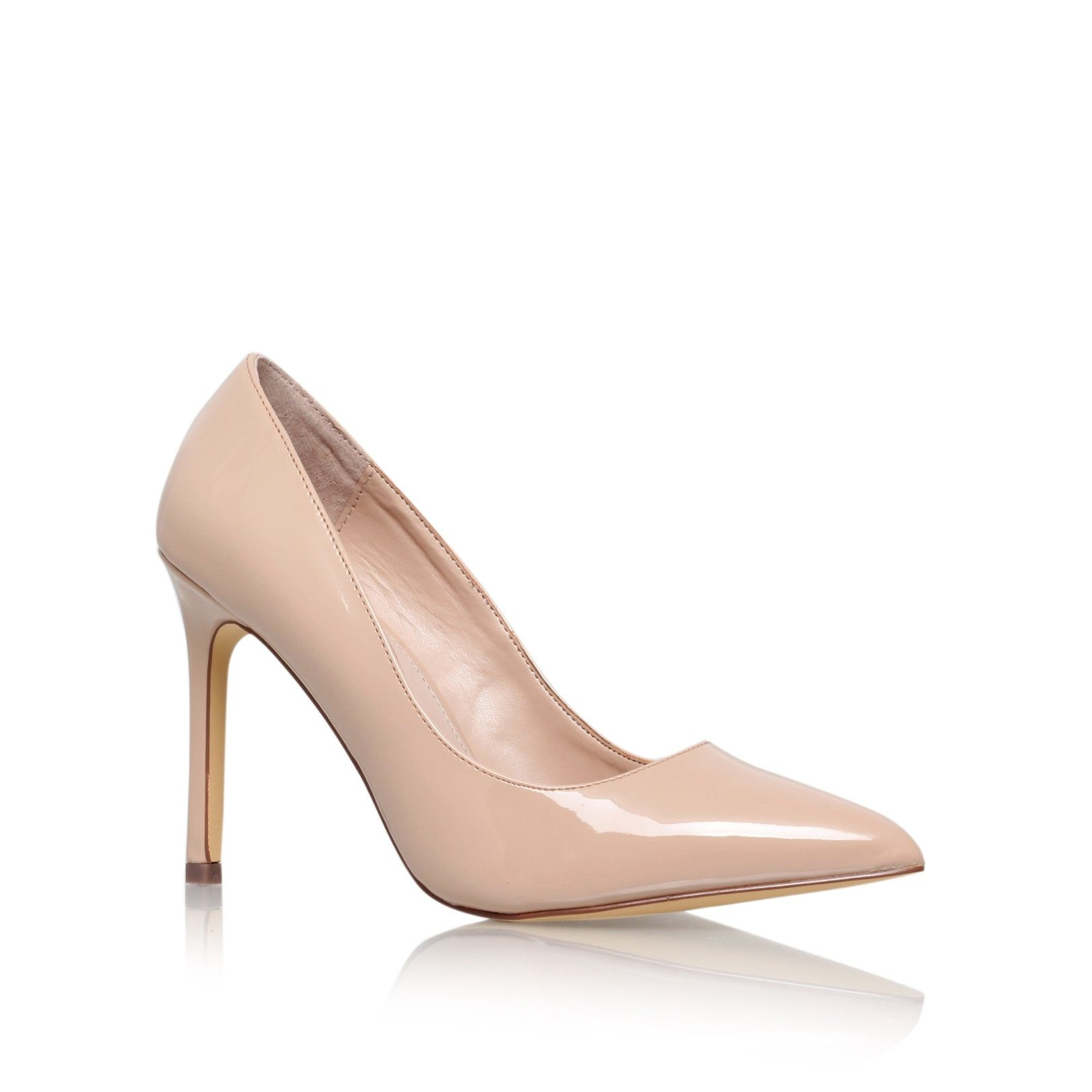 KESTRAL Nude High Heel Court Shoes by Carvela Kurt Geiger | Kurt ...