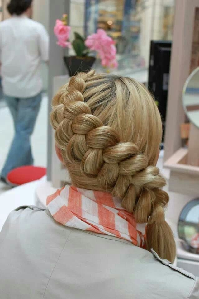 Beautiful side braiid