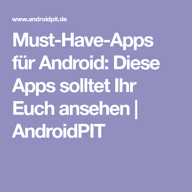 Die Besten Apps FГјr Android Tablets