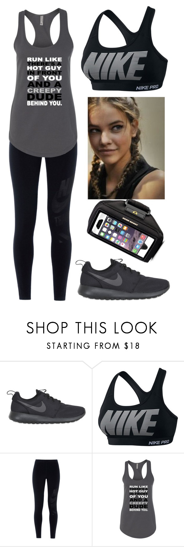 """Nike Pro"" by nena69 ❤ liked on Polyvore featuring NIKE"