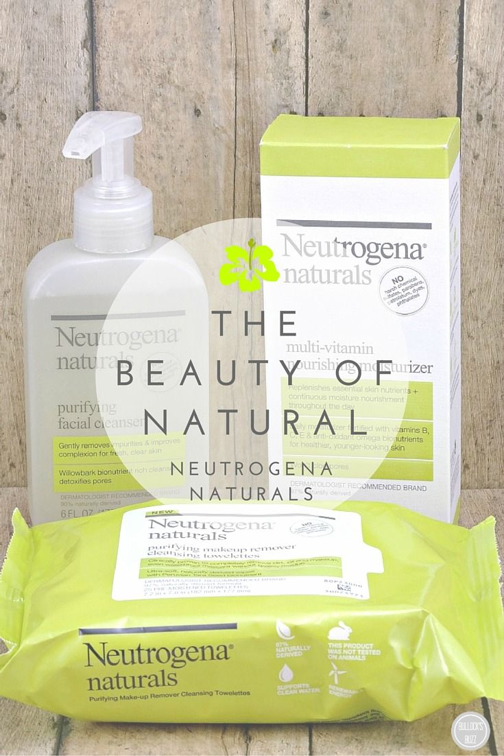 Neutrogena Naturals The Beauty Of Natural Neutrogena Beauty