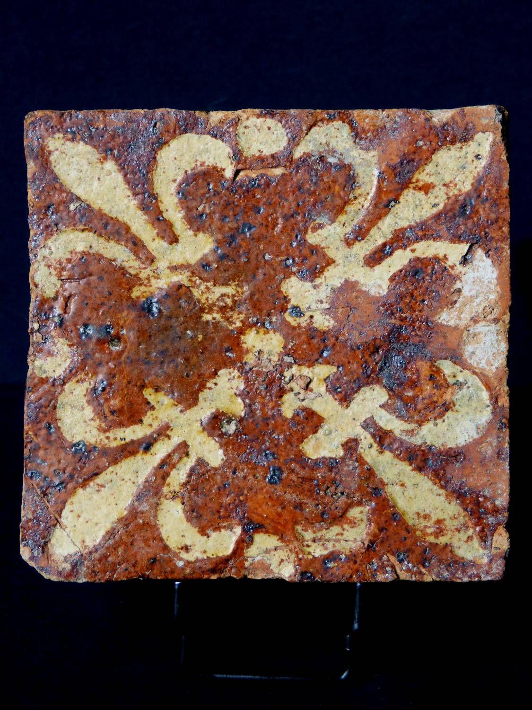 Antique for sale medieval pavement floor tile gothic