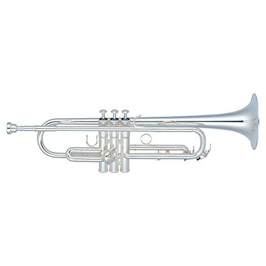 yamaha ytr 6310zs trumpet b professional series silver plated finish getzen trumpet used