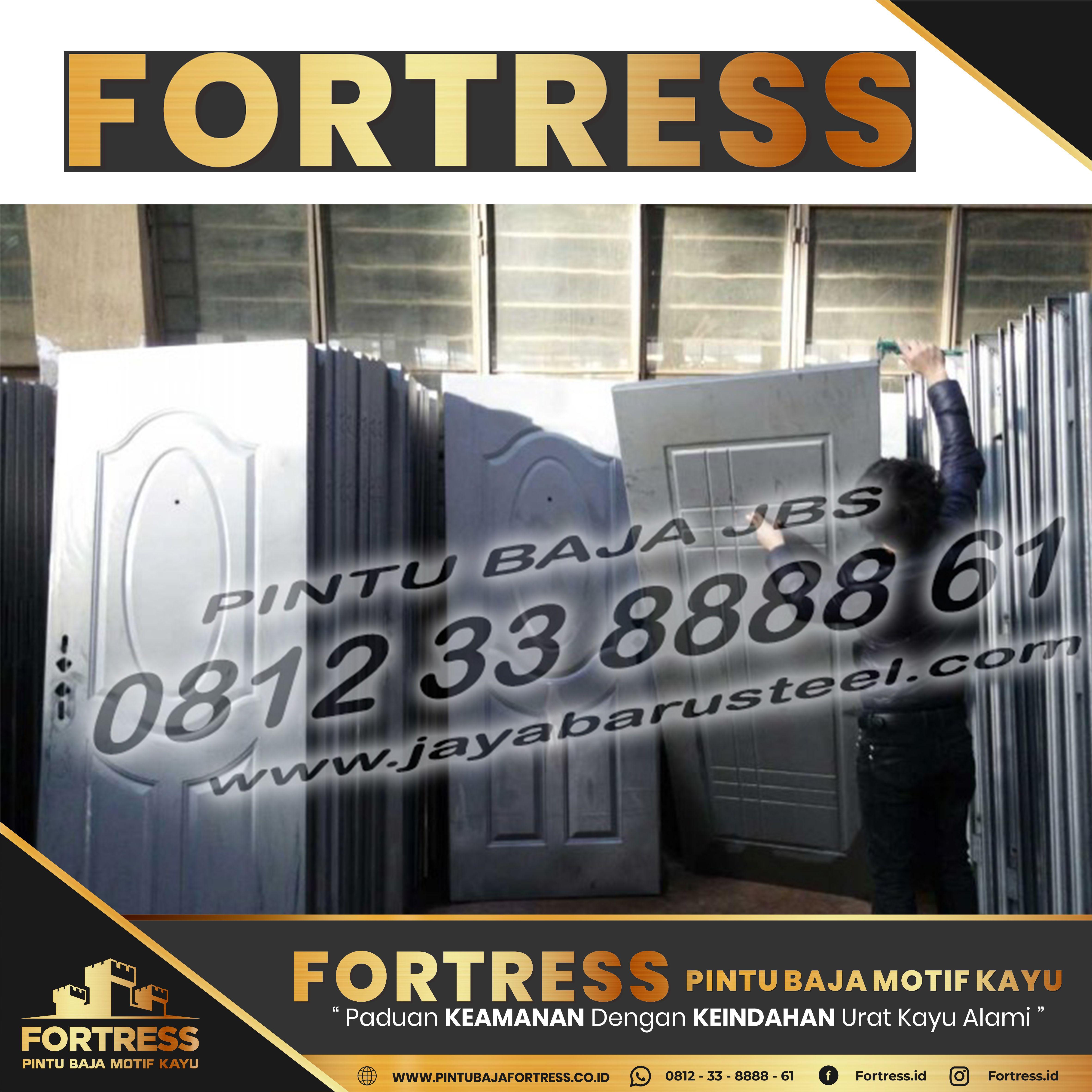 0812-91-6261-07 (FORTRESS) Steel Doors And Frame Samarinda, …