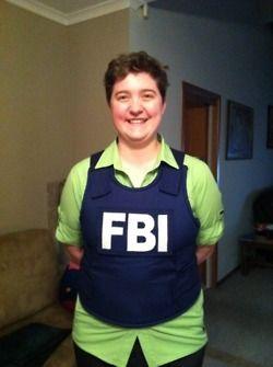 fbi bullet proof vest - Halloween Bullet Proof Vest