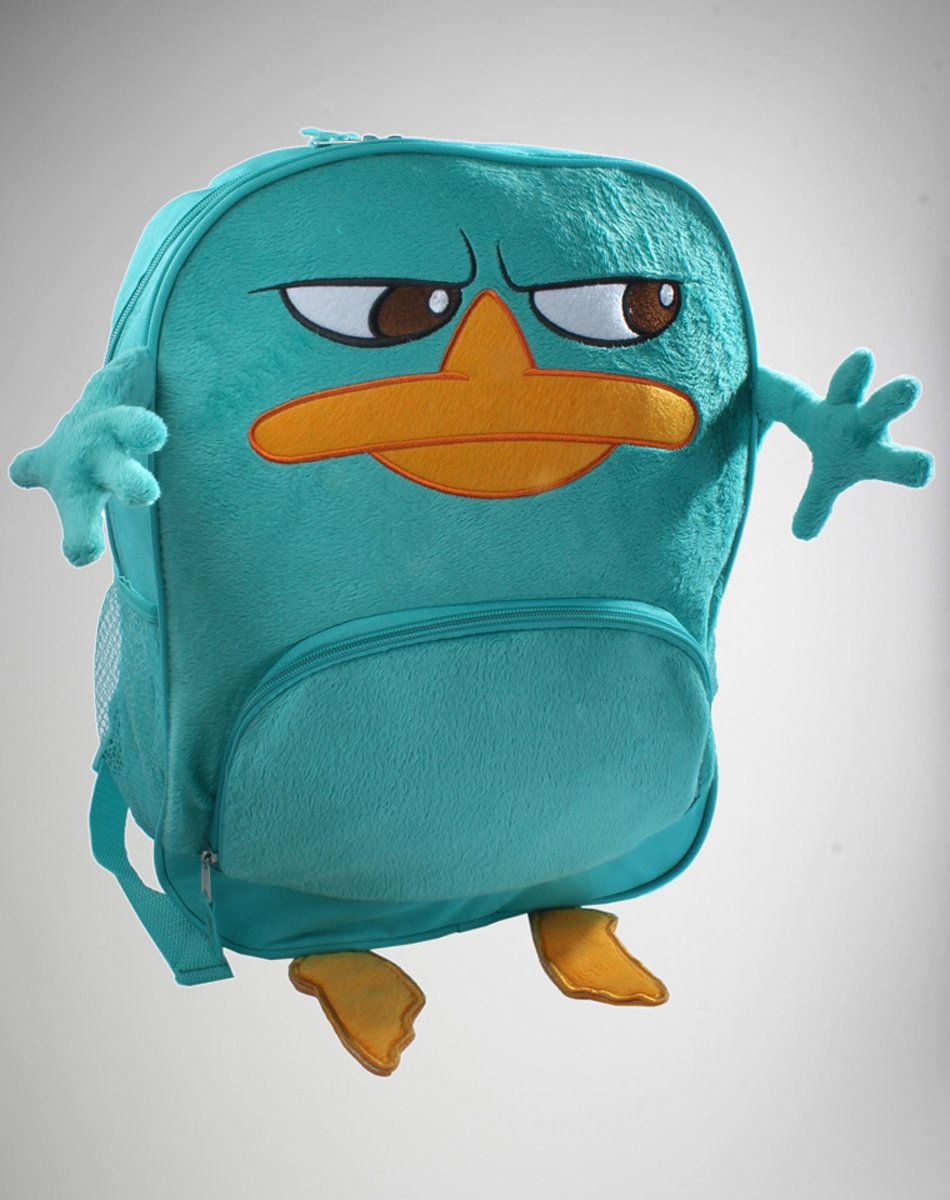 Aww A Normal Platypus Backpack Gasp Parry The Platypus Backpack