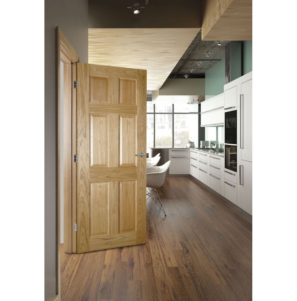 Stylish Fully Finished 6 Panel Internal Doors From Emerald Https