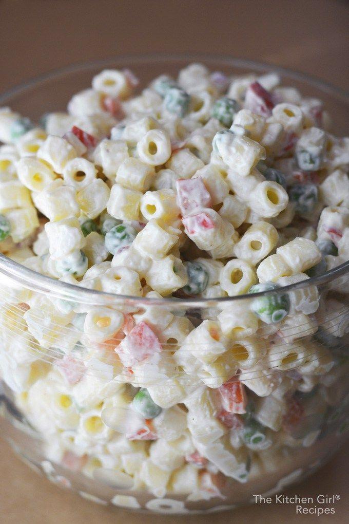 Macaroni Salad Recipe No Sugar