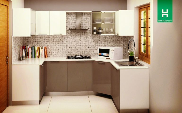 Buy Condor Spartan U-Shaped Kitchen Online - HomeLane India   Stuff ...