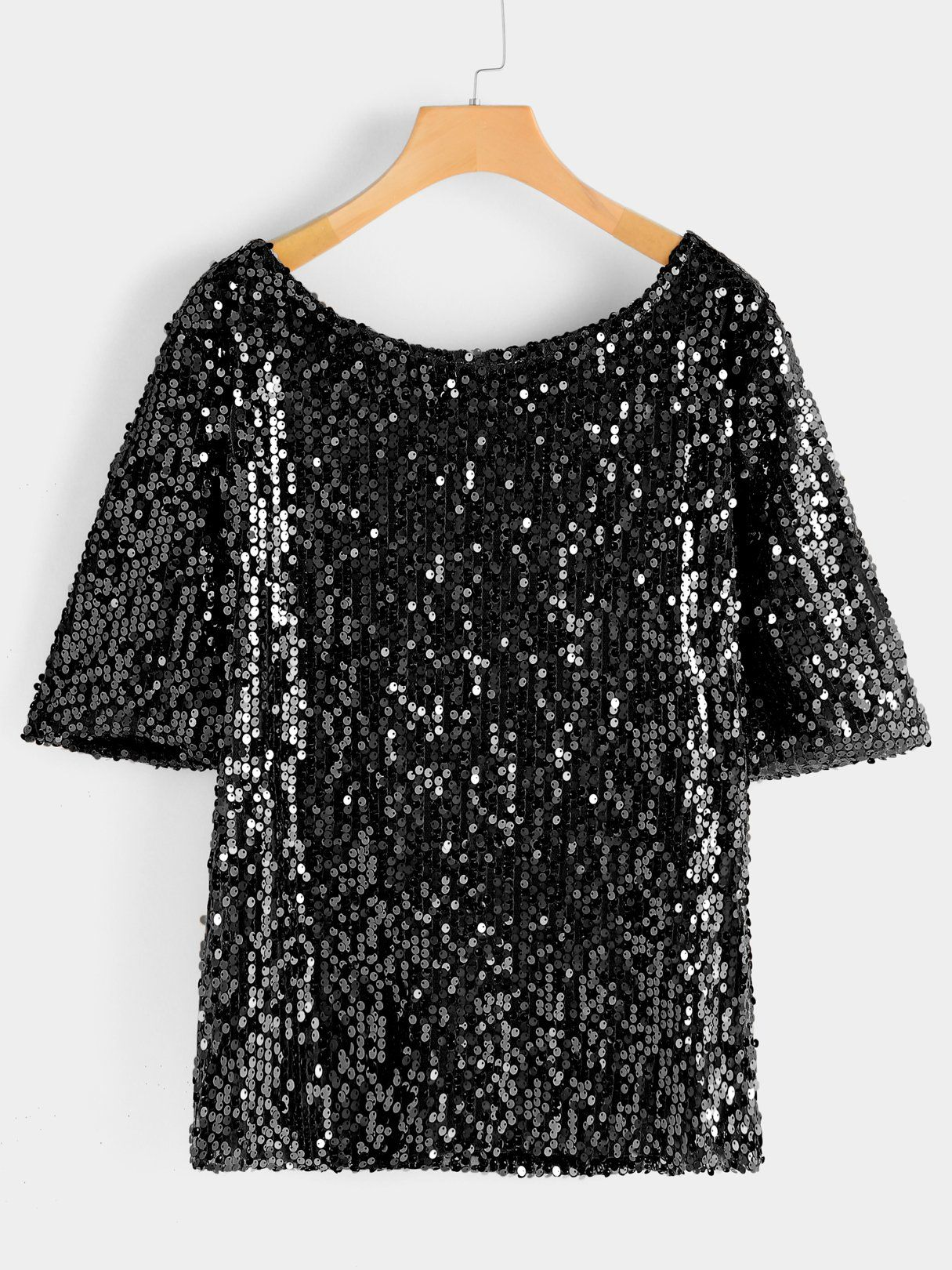 4a4760f81f3 Plus Size Sequin Blouse in 2019
