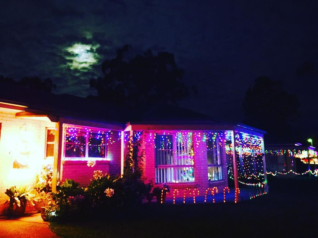 christmas lights house christmas like4like likeforlike australia awesome fantastic