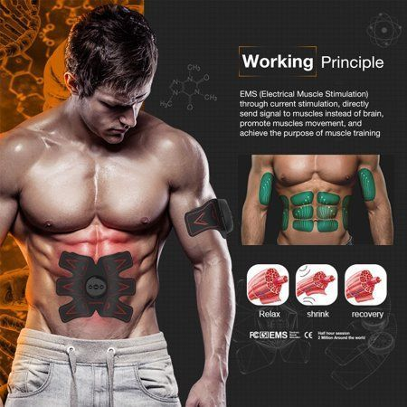 Abdominal Muscle Trainer Abdominal Muscle Trainer Smart Body Building Fitness Fo... -  Abdominal Mus...
