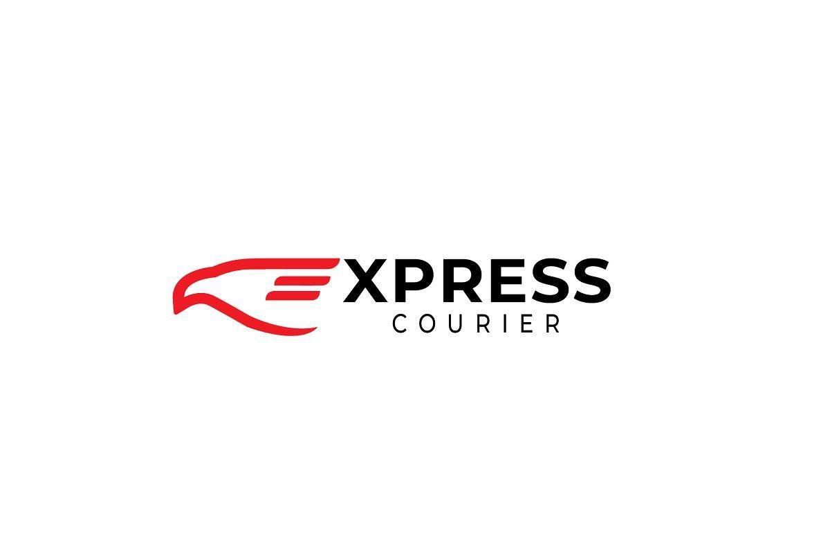 Courier Express Logo Express Logo Logos Transportation Logo