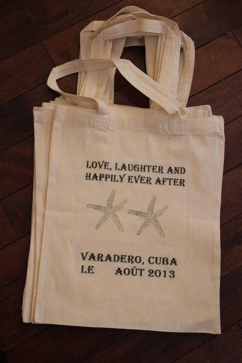 ... Wedding Welcome Bags, Destination Wedding Itinerary and Destination