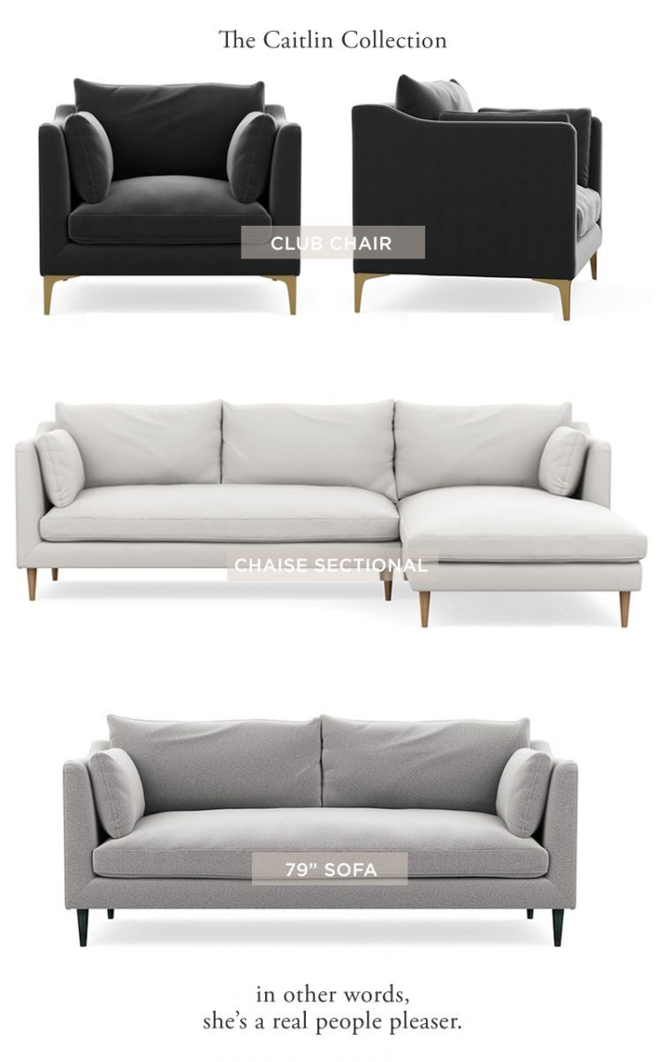 Introducing The Everygirl\'s Caitlin Sofa at Interior Define ...