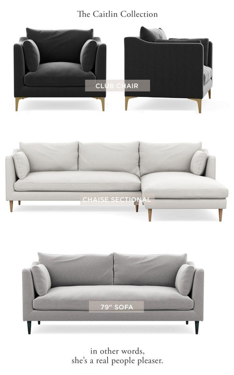 Introducing The Everygirlu0027s Caitlin Sofa At Interior Define