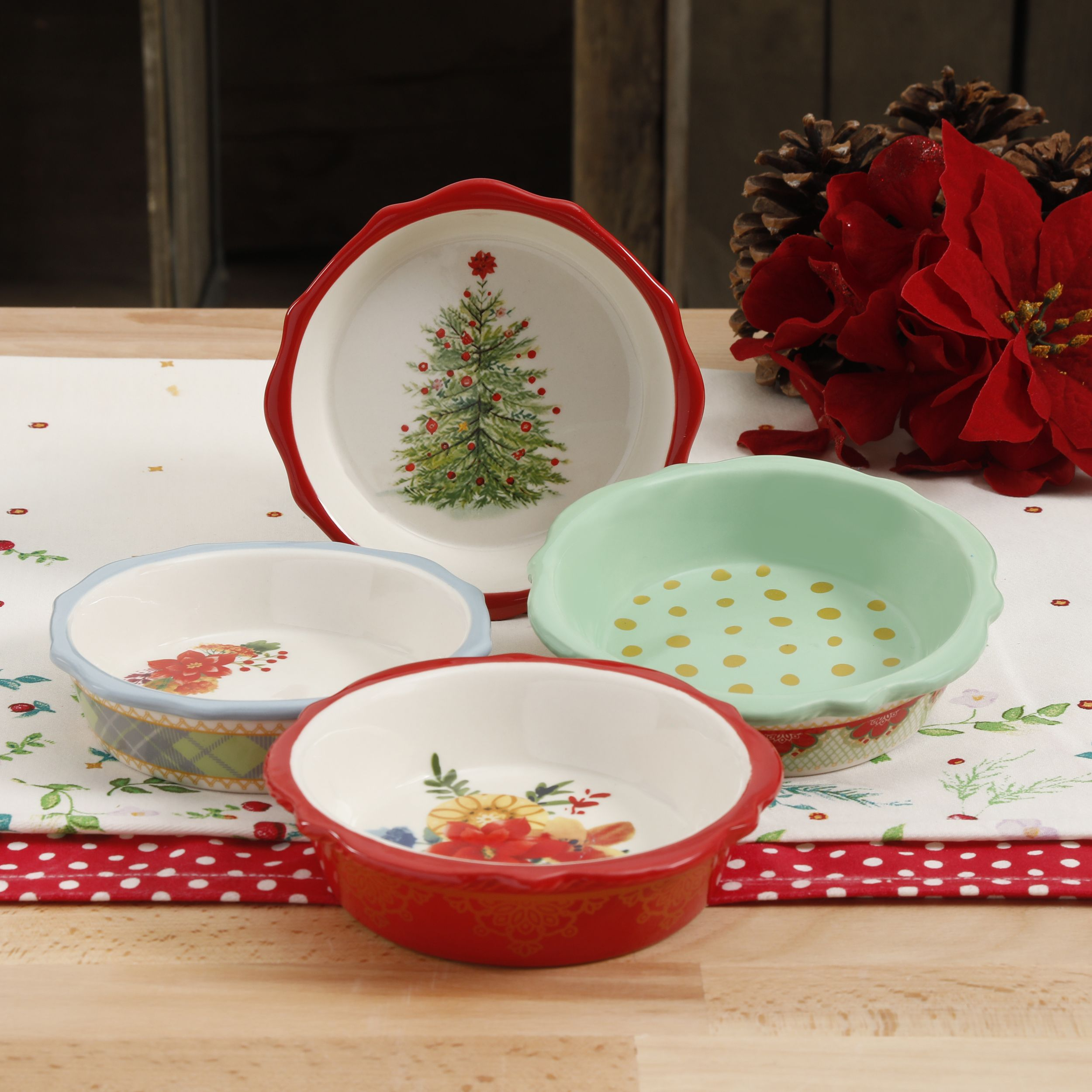 Mini Christmas Pie Plates & Mini Christmas Pie Plates | Seasons | Pinterest | Pie plate
