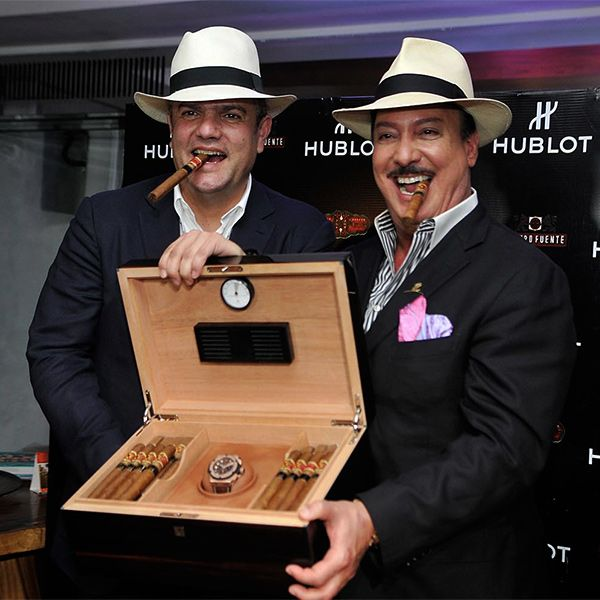 Luxury Watches in Stockholm :: HUBLOT King Power Arturo Fuente King Gold