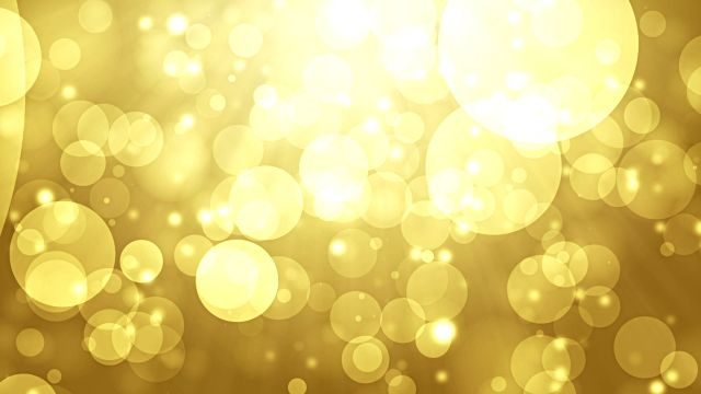Moving Particles Loop Abstract Gold Bokeh Hd Background 03