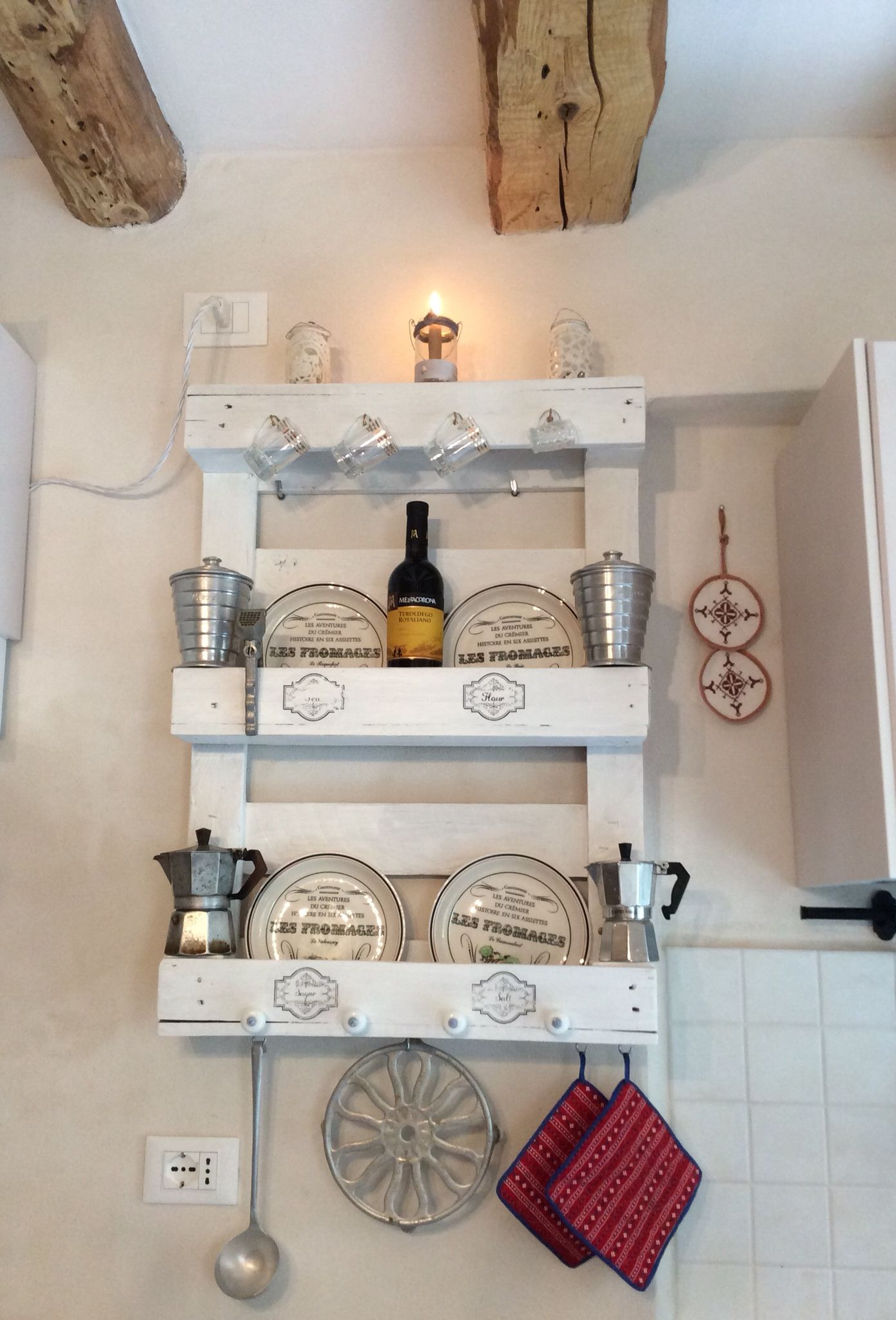 Cucina Pallet Fai Da Te pallet per arredare la cucina! ecco 15 idee creative per