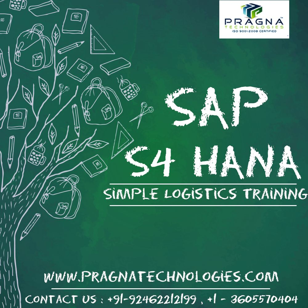 SAP S/4 Hana Simple Logistics Online Training | SAP SIMPLE