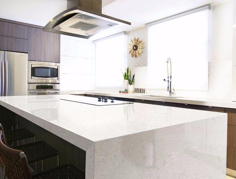 Cambria Weybourne Residential Kitchen Cambria Quartz Quartz Countertops Minimalist Kitchen