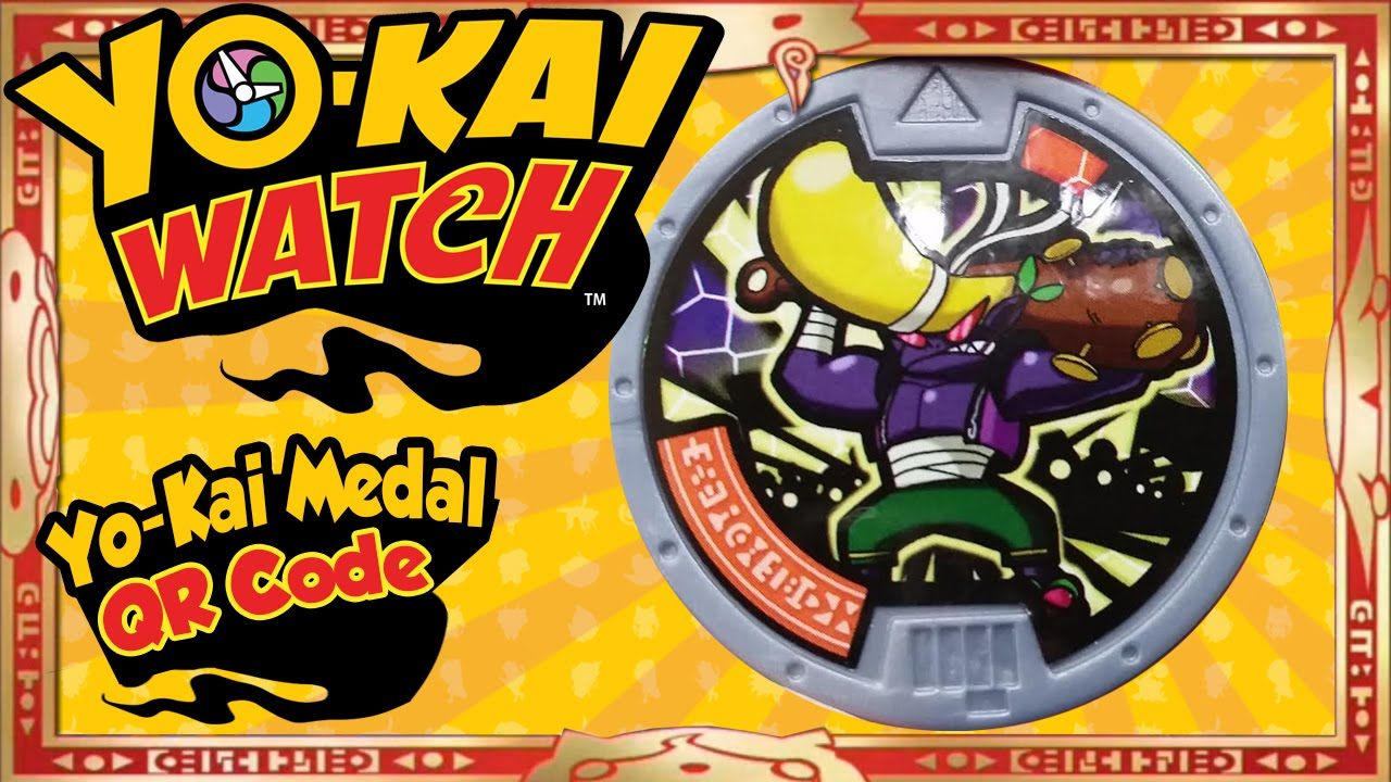 Yo Kai Watch Yo Kai Medal Qr Codes U S Bruff Medal Tips Tricks Kai Coding Medals
